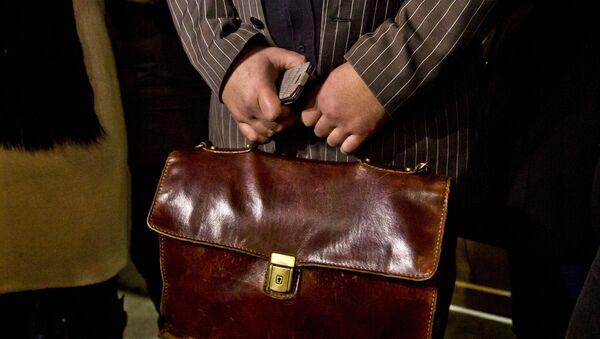 Портфель чиновника, фото из архива - Sputnik Азербайджан
