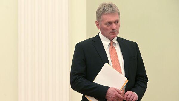 Заместитель руководителя администрации президента – пресс-секретарь президента РФ Дмитрий Песков - Sputnik Азербайджан