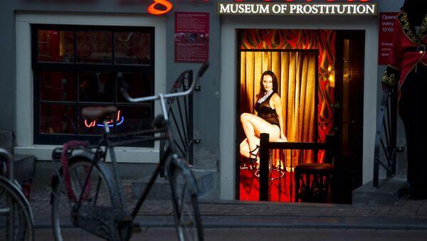 Музей «Секреты Красного Света» в Амстердаме, фото из архива  - Sputnik Azərbaycan