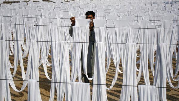 Pakistanda tekstil sənayəsi, arxiv şəkli - Sputnik Azərbaycan