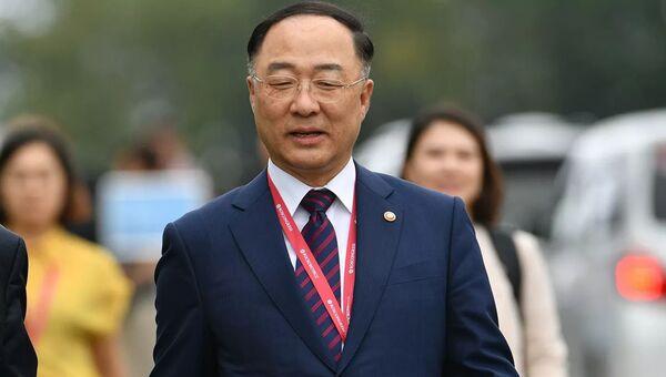 Министр планирования и финансов Республики Корея Хон Нам Ги, фото из архива - Sputnik Азербайджан