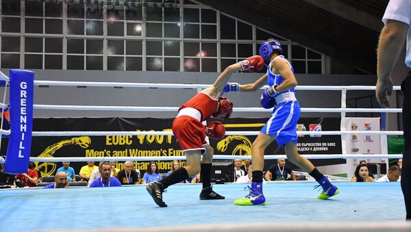 Чемпионат Европы по боксу среди молодежи в Софии - Sputnik Азербайджан