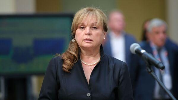 Председатель Центральной избирательной комиссии (ЦИК) РФ Элла Памфилова - Sputnik Азербайджан
