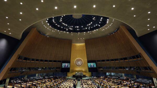 73-я сессия Генеральной Ассамблеи ООН, фото из архива - Sputnik Азербайджан