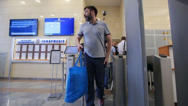 Руководитель портала РИА Новости Украина Кирилл Вышинский, фото из архива - Sputnik Азербайджан