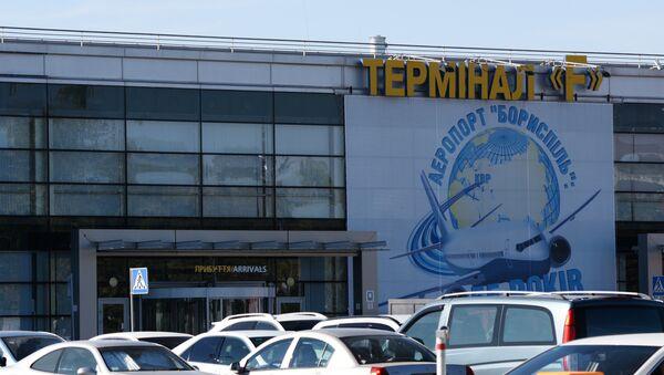 Аэропорт Борисполь, архивное фото - Sputnik Азербайджан