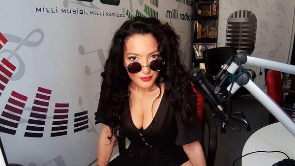 Азербайджанская певица Диляра Кязымова, фото из архива - Sputnik Азербайджан