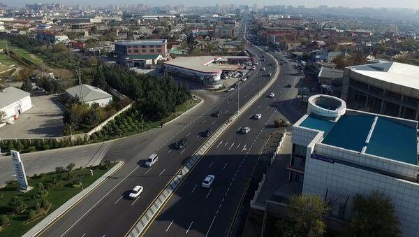 Проспект Бабека в Баку после реконструкции, фото из архива - Sputnik Азербайджан