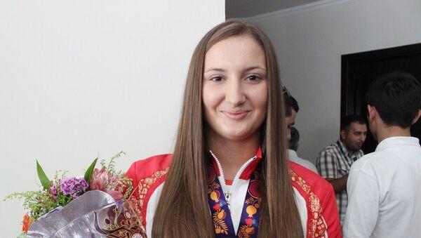 Азербайджанская спортсменка Ирина Зарецкая - Sputnik Азербайджан