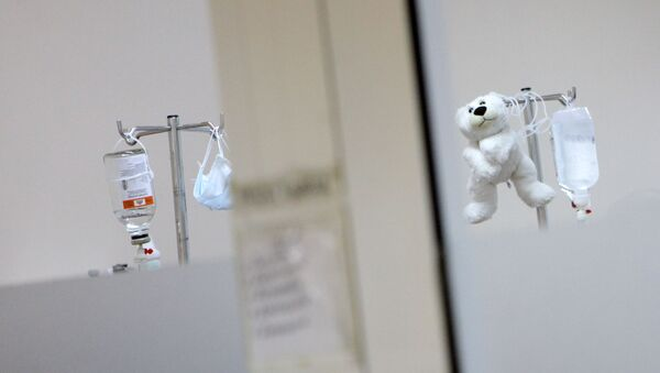 Детская больница, фото из архива - Sputnik Азербайджан