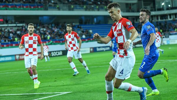 Матч отборочного цикла чемпионата Европы по футболу 2020 года между Азербайджаном и Хорватией - Sputnik Азербайджан