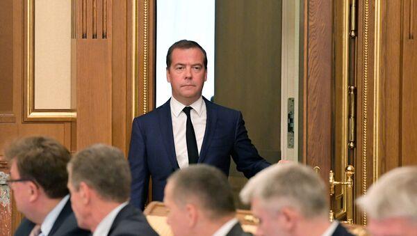 Rusiya baş naziri Dmitri Medvedyev, arxiv şəkli - Sputnik Azərbaycan