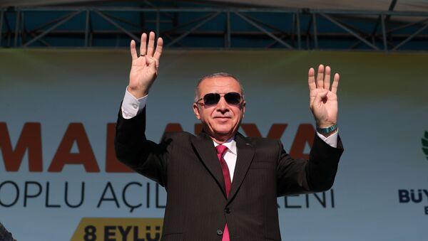 Türkiyənin prezidenti Rəcəb Tayyib Ərdoğan, arxiv şəkli - Sputnik Azərbaycan