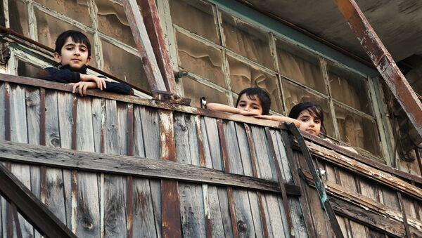 Там, где осталось детство: кадры старого бакинского дворика - Sputnik Азербайджан