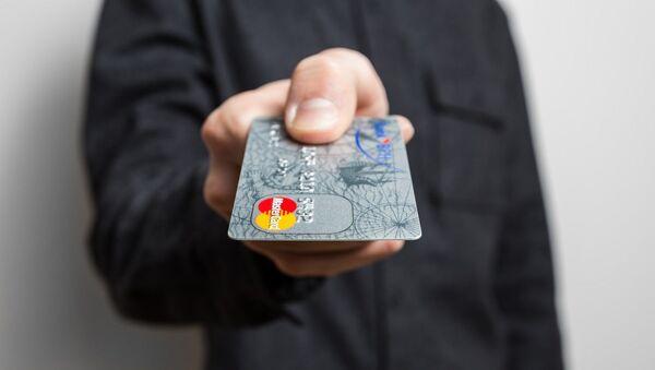 Кредитная карта, фото из архива - Sputnik Azərbaycan