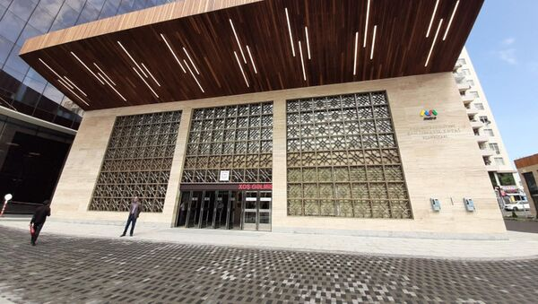 Станция бакинского метро «Шах Исмаил Хатаи»  - Sputnik Азербайджан
