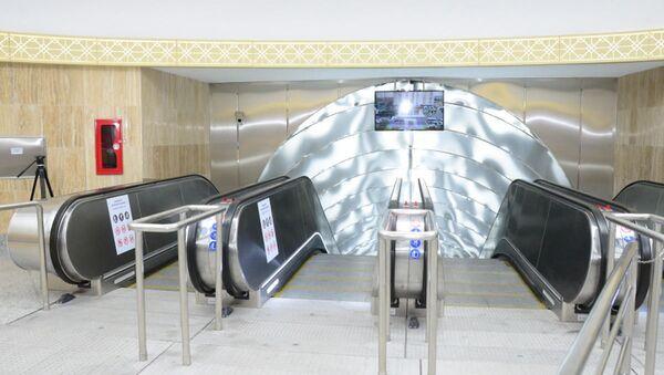 Станция бакинского метро Шах Исмаил Хатаи - Sputnik Азербайджан