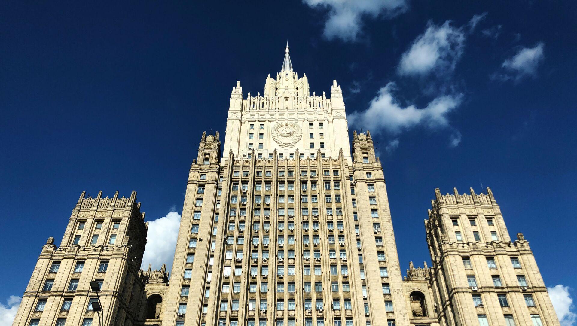 Здание Министерства иностранных дел РФ, фото из архива - Sputnik Азербайджан, 1920, 18.07.2021