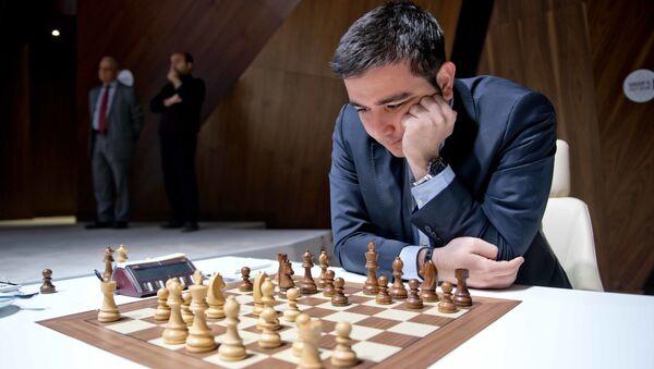 Гроссмейстер Эльтадж Сафарли, фото из архива - Sputnik Азербайджан