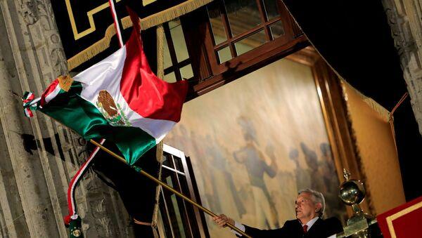Президент Мексики Андрес Мануэль Лопес Обрадор, фото из архива - Sputnik Azərbaycan