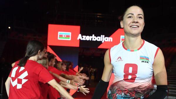 Азербайджанская волейболистка Елизавета Самадова - Sputnik Азербайджан