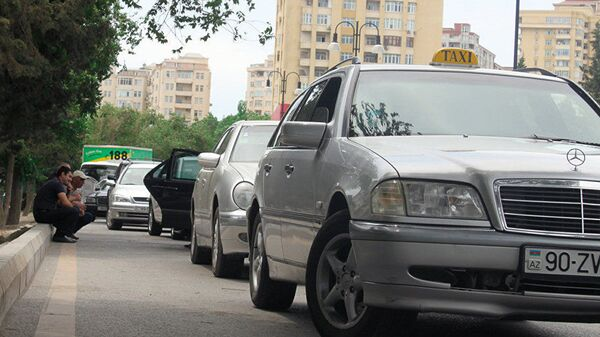 Taksi, arxiv şəkli - Sputnik Азербайджан