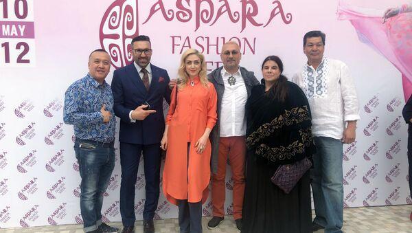 Участники Недели моды Aspara Fashion Week - Sputnik Азербайджан