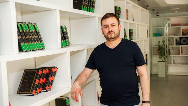 Шеф-редактор Sputnik Литва Марат Касем, фото из архива - Sputnik Азербайджан