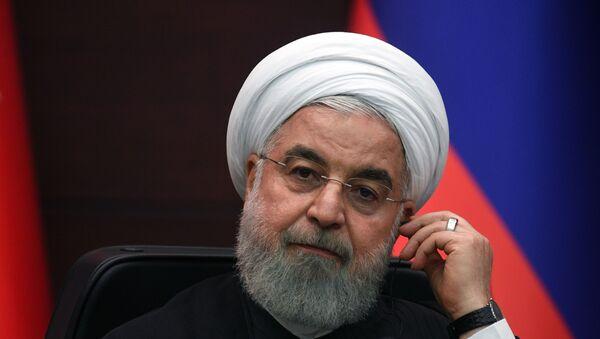 Президент Ирана Хасан Рухани, фото из архива - Sputnik Azərbaycan