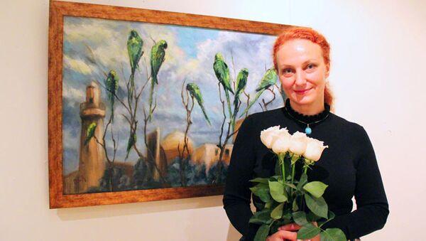 В Национальном музее искусств прошла выставка российского дипломата Оксаны Орловой  - Sputnik Азербайджан