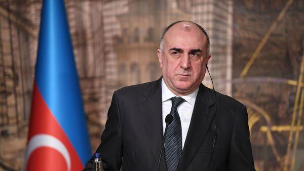Министр иностранных дел Азербайджана Эльмар Мамедъяров, фото из архива - Sputnik Azərbaycan