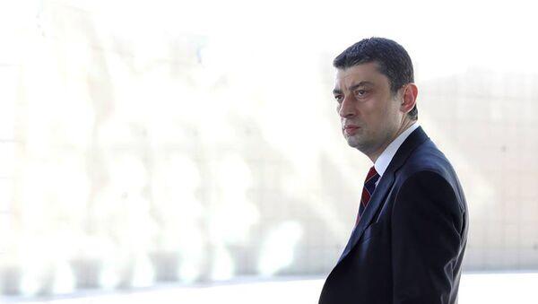 Премьер-министр Грузии Георгий Гахария, фото из архива - Sputnik Azərbaycan
