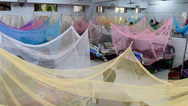 Эпидемия лихорадки денге в Бангладеше, фото из архива - Sputnik Азербайджан