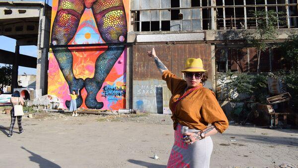 Художница из Швеции Каролина Фалкольт - Sputnik Азербайджан