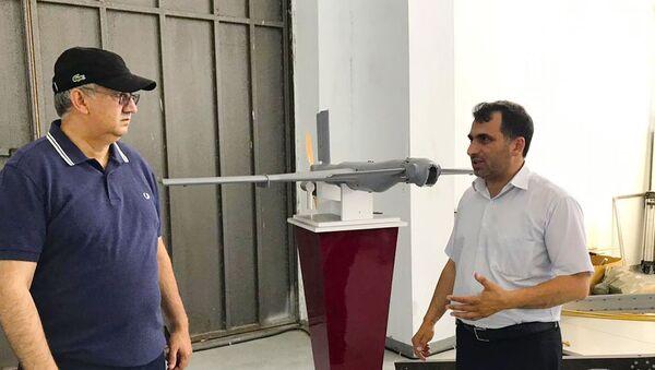Беспилотник военного назначения был испытан в условиях реальной местности - Sputnik Азербайджан