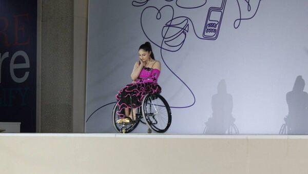 Азербайджанская паралимпийка Вюсаля Керимова, фото из архива - Sputnik Азербайджан