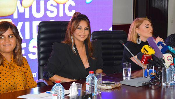 Состоялась пресс-конференция международного музыкального фестиваля Зима  - Sputnik Азербайджан