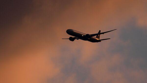 Пассажирский самолет, фото из архива - Sputnik Азербайджан