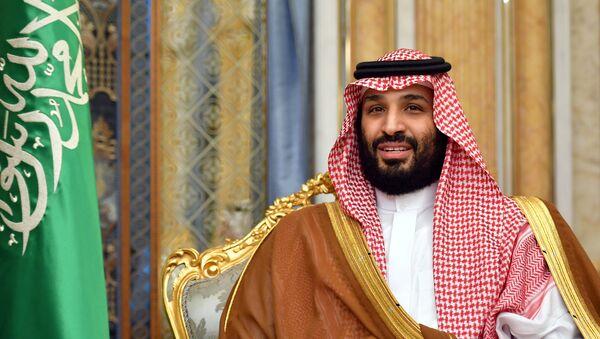Наследный принц и министр обороны Саудовской Аравии Мухаммед бен Салман Аль Сауд  - Sputnik Азербайджан