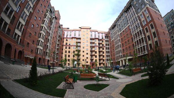 Жилой дом, фото из архива - Sputnik Азербайджан