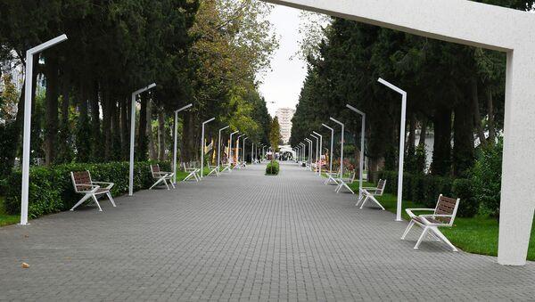 Парк в Баку, фото из архива - Sputnik Азербайджан