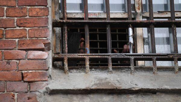 Заключенный в СИЗО, фото из архива - Sputnik Азербайджан