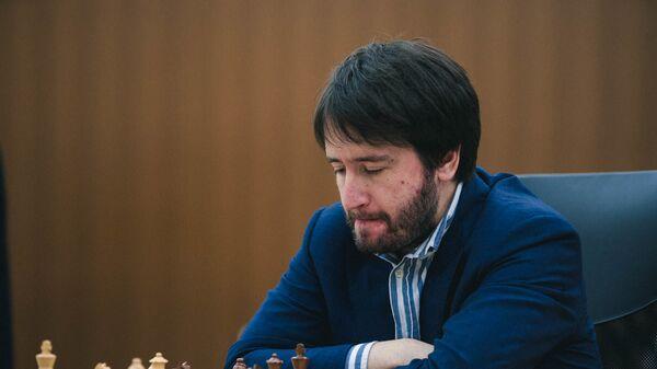 Азербайджанский гроссмейстер Теймур Раджабов в финале Кубка мира в Ханты-Мансийске - Sputnik Азербайджан