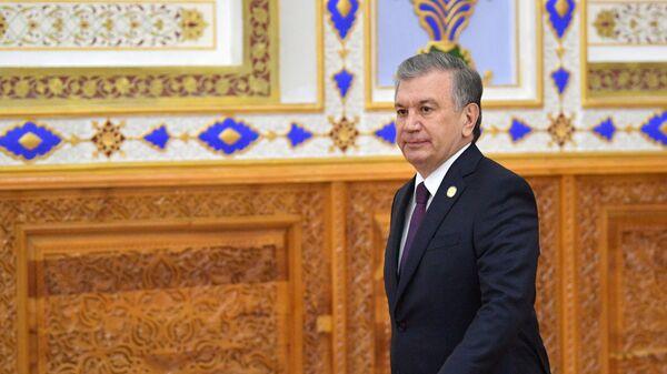 Özbəkistan Prezidenti Şavkat Mirziyoyev  - Sputnik Azərbaycan
