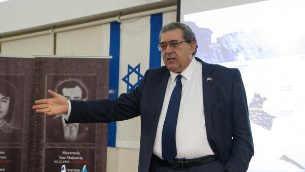 Генеральный директор Международной ассоциации Израиль-Азербайджан АзИз Лев Спивак, фото из архива - Sputnik Азербайджан