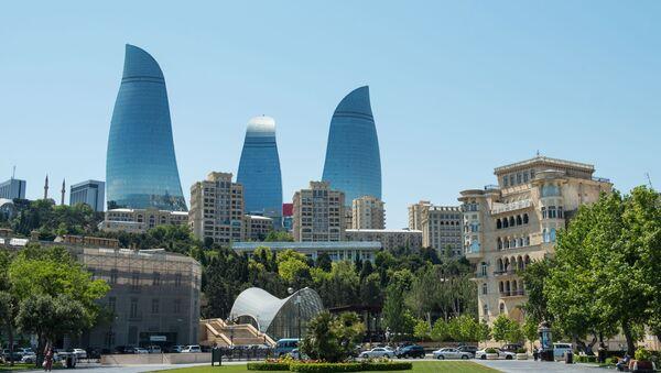 Flame Towers kompleksi - Sputnik Азербайджан
