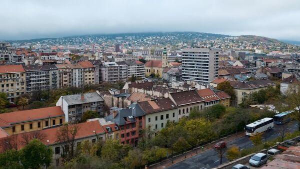 Вид на район Буда в Будапеште - Sputnik Азербайджан