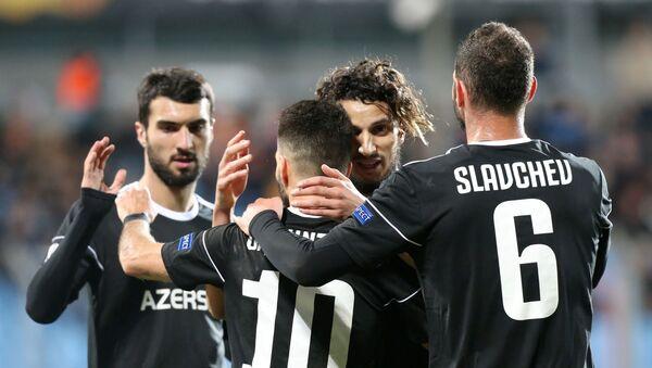 Матч 2-го тура группы A Лиги Европы по футболу между люксембургским Дюделанжем и азербайджанским Карабахом - Sputnik Азербайджан