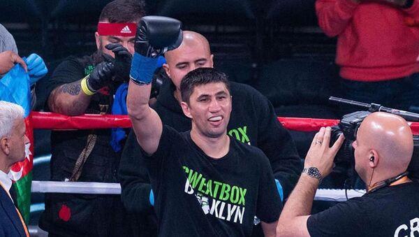 Азербайджанский боксер Рамал Аманов, фото из архива - Sputnik Азербайджан