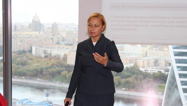 Директор Института профессионального кадровика Валентина Митрофанова, фото из архива - Sputnik Азербайджан